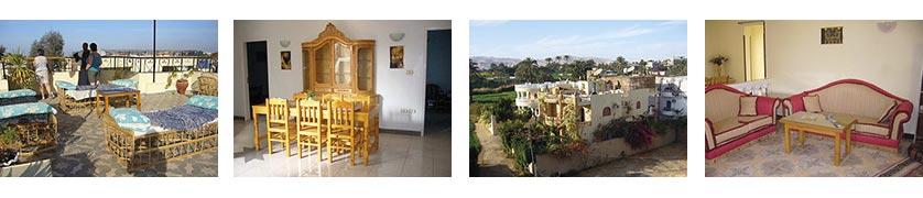Eyehouse II til leje: Lejlighederne ligger i roligt område overfor EYEHOUSE tæt ved Nilen.